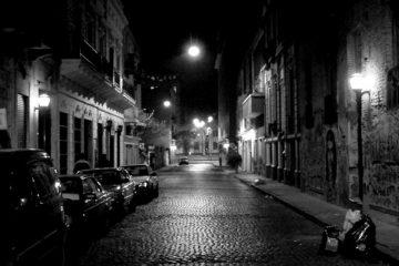 foto de barrio porteño
